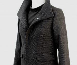 Anfertigung von Jacken nach Ihren Maßen und Wünschen, hie einen Jacke mit einem Stehkragen und Pattentaschen - Maßanfertigung Möglich