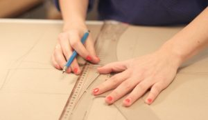 Anfertigung Ihres Maßschnittes - Die Schnittkonstruktion